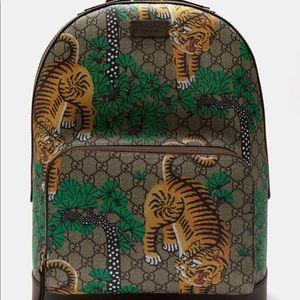 Gucci Tiger Monogram Back Pack